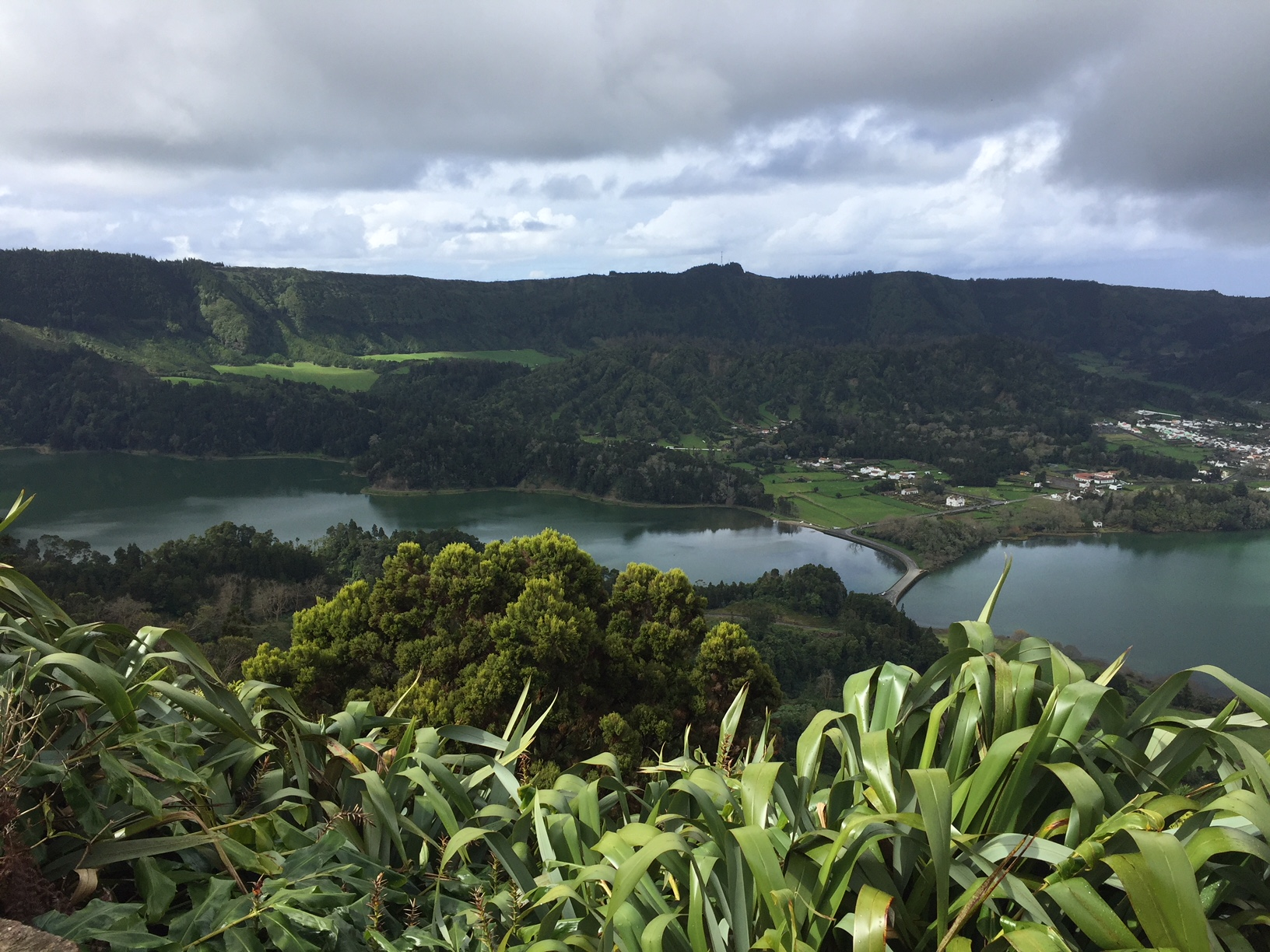 Lagoon of the seven cities, a twin lake in the crater of a dormant volcano in the western part of the São Miguel island (Azores, Portugal). Photo by Dr. Ana Sanches Silva.