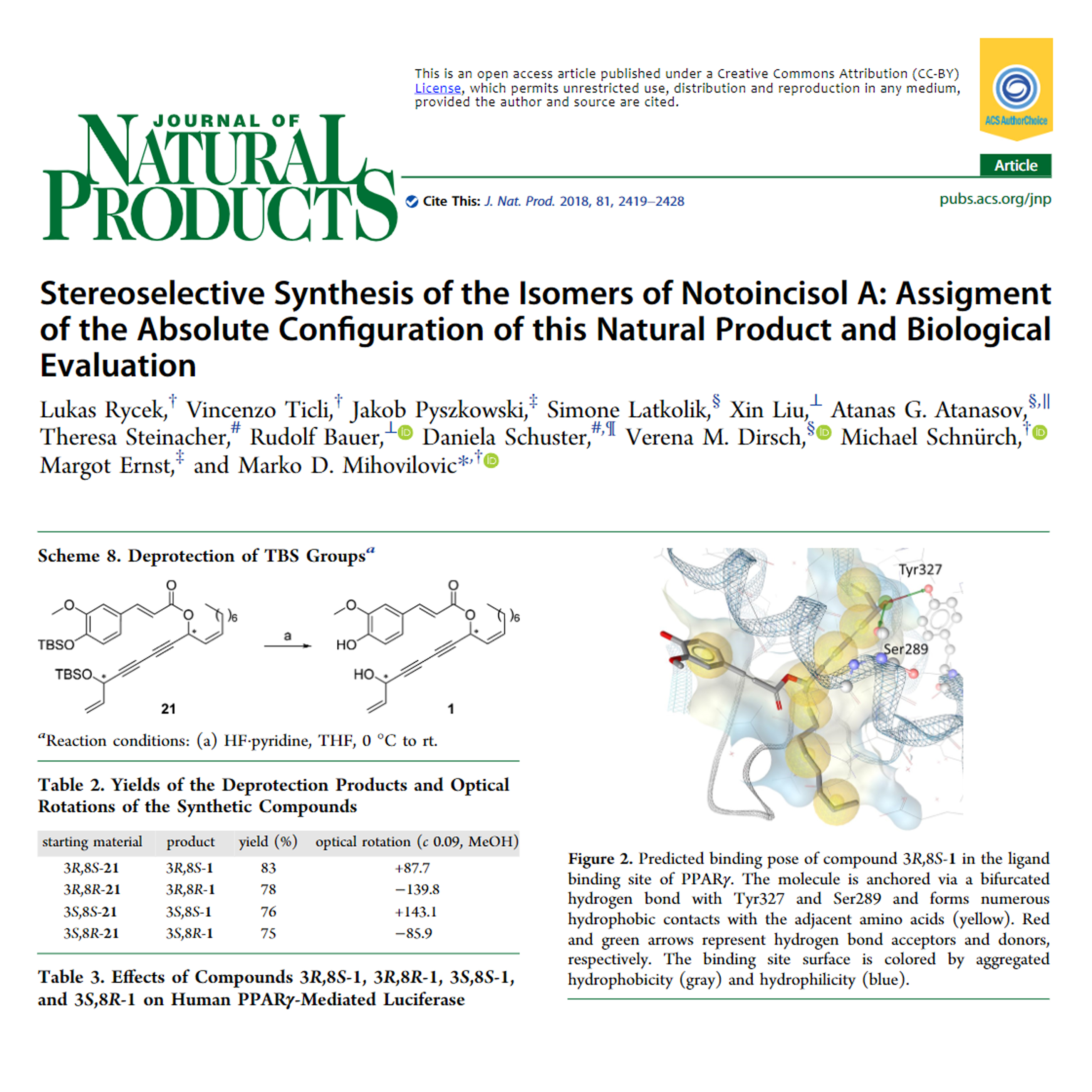 Stereoselective Synthesis of the Isomers of Notoincisol A: Assigment of the Absolute Configuration of this Natural Product and Biological Evaluation